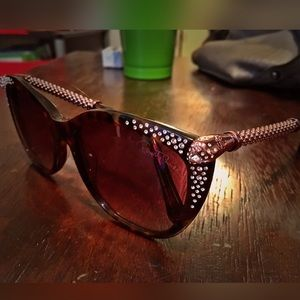 Authentic Roberto Cavalli  jeweled Sunglasses